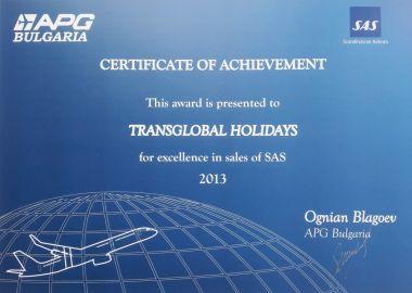 SAS Certificate